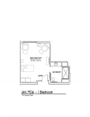 Senior Living Floor Plan