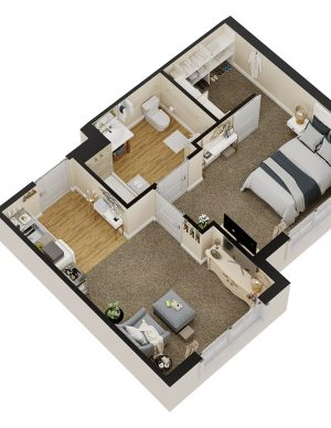 Sarasota Senior Living Floor Plan 1