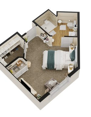Sarasota Senior Living Floor Plan 2