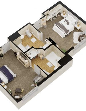 Sarasota Senior Living Floor Plan 3
